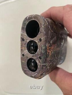 Used Bushnell 202208 Laser Rangefinder Bone Collector LRF RealTree Xtra Camo