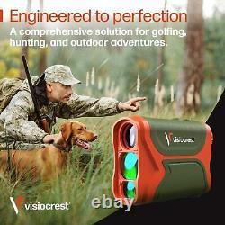Visiocrest A-3280-GO Laser 3000 Ft Range Finder Golf Hunting Archery Precision