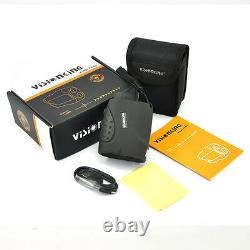 Visionking 6x21 Laser Range Finder Hunting Golf Rain 1000m USB Charging with Cable