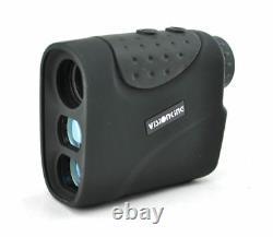 Visionking 6x21 Laser Range Finder Hunting Golf Rain 1200 m Yards Black