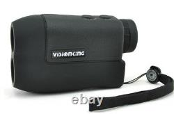 Visionking 6x25 Laser Range Finder Outdoor Hunt Golf Rain 600m Distance Measure