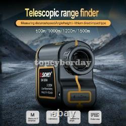 3-600m Golf Laser Range Finder Distance/hauteur/angle/speed Meter Rechargeable