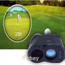 600m Digital 6x Telescope Golf Laser Range Finder Distance Height Speed Meter