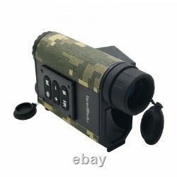 6x Chasseur Binoculaire Laser Range Finder Digital Night Vision Ir Nv Telescope