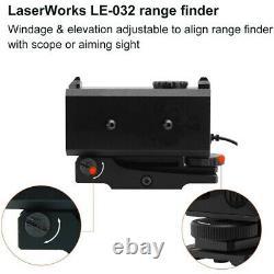700m Laser Range Finder Téléscope Distance Chasse Rifle Portée Golf Rangefinder