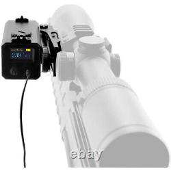 700m Monoculaire Laser Range Finder Sight Rifle Scope Hunting Speed Range Finder
