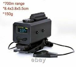 700m Range Finder Ip65 Étanche Extérieur Chasse Télémètre Laser Montable