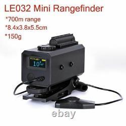 700m Range Finder Réglable Scope Mount Hunt Scope Le032 Télémètre Laser 21mm