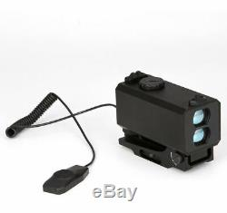 700m Tactique Mini Télémètre Laser Mounts 2omm Pictany Weaver Rail Pour La Chasse