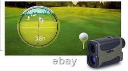Adel Optique! 700 Yard Golf Laser Range Finder Scope Pinseeking Flag Hunter Scope