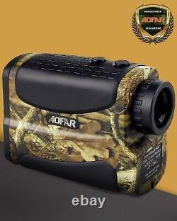 Archery Range Target Finder Waterproof Laser Bow Speed Hunting Scan Fog 700 Yard