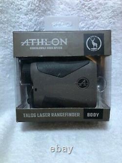 Athlon Optics Talos 800 Yd Laser Rangefinder Pour Le Golf Ou La Chasse, Tan
