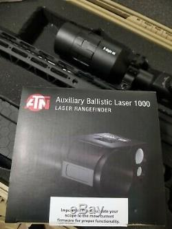 Atn 1000 Cour Auxiliaire Ballistic Télémètre Laser