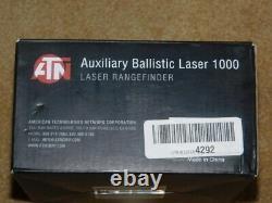 Atn Acmuabl1000 Télémètre Laser Balistique Auxiliaire 1000 Noir