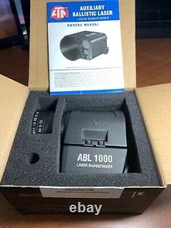 Atn Auristic Ballistic Laser Smart (abl) 1000 Télémètre Avec Bluetooth
