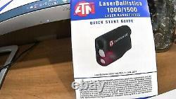 Atn Laser Ballistics 1500m Bluetooth Smart Laser Télémètre