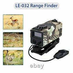 Boblov Mini Laser Rangefinder Rifle Scope Mate Chasse Bow-700yard Archey Mode