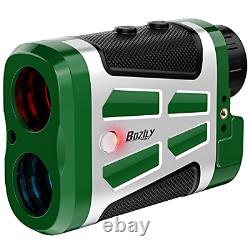 Bozily Golf Range Finder 1500 Yards Laser Rangefinder Chasse Avec Rouge/noir 6x
