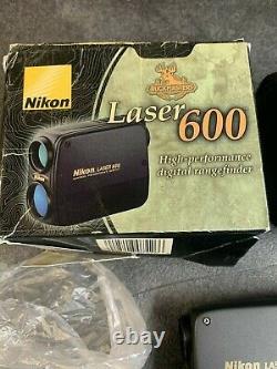 Buckmasters Nikon Laser 600 6x20 6.3 Résistant À L'eau Nouveau Ouvert Box Article Impeccable