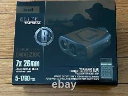 Bushnell 202540 7x26mm Elite Cox Laser Rangefinder Brown