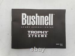 Bushnell 202645 Trophy Xtreme Laser Rangefinder Avec Arc, Matte Black