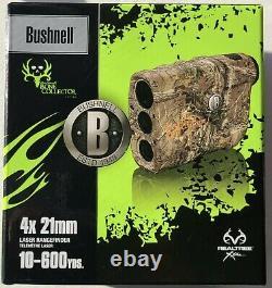 Bushnell 4x21mm Laser Rangefinder, Collecteur D'os, Camo Modèle 202208, Neuf