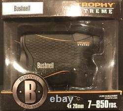 Bushnell Trophy Xtreme Laser Range Finder/ Arc 4x20mm -7-850 Yds