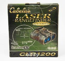 Cabelas Bushnell Clr1200 Rangefinder De Chasse Au Laser 5x Séclusion 3d (nouveau)