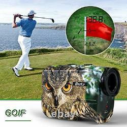 Chasse Laser Range Finder Golf 1500 Yards, Wild Coma Archery