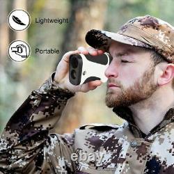 Chasse Télémètres Laser De Télémètre Monoculaire Multifonction Lrf Hunt