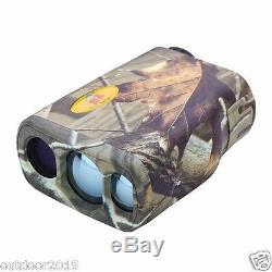 Étanche Bionic Camouflage Télémètre Laser Gamme Vitesse Finder 1000m / 600m