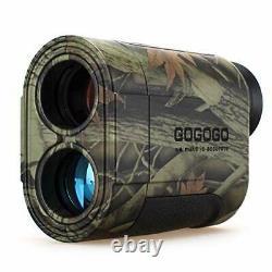 Gogogo 6x Hunting Laser Rangefinder Range Finder Distance Measuring Outdoor Wild