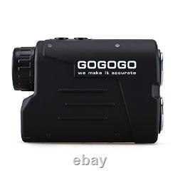 Gogogo Sport Laser Golf/télémètre De Chasse, 6x Magnification Clear View 650/900