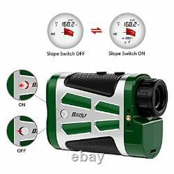 Golf Range Finder 1500 Yards Laser Rangefinder Chasse Avec Rouge/noir