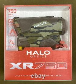 Halo Optics (xr750) Télémètre Laser (750 Yds, 6x) Camo. Gratuit S&h