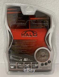 Halo Xray 1000 Télémètre Laser Et Batterie Realtree Camo Xtra 6x Grossissement