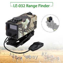 Hot Le-032 Laser Range Finder Sight Rifle Scope Rangefinder Pour La Chasse 700m