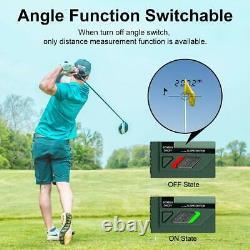 Huepar Golf Laser Rangefinder 1000 Yards 6x Laser Range Finder Avec Slope Adjust
