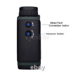 Laser Range Finder 10x25 Distance De Portée De Vue Mesurant Bushnell 700+ Yards Fast