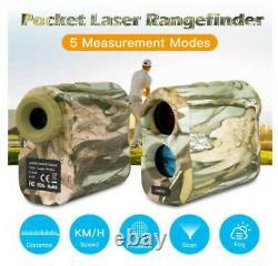 Laser Range Finder 1200m Mesureur De Distance Golf Sport Survey Chasse