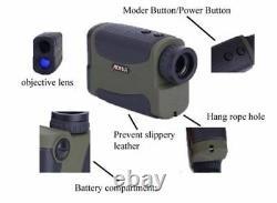 Laser Range Finder Hunting Golf 700m 6x 25 Slope Pinseeker Vitesse De Hauteur De Distance