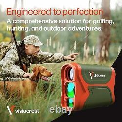Laser Range Finder Pour La Chasse Au Golf Et La Précision De Tir À L'arc, Mesure De Distance 3000ft
