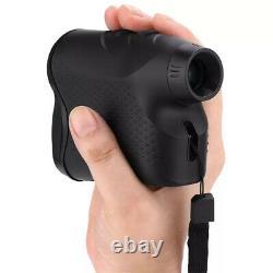 Laser Rangefinder 1500m Télescope Portable Golf Rangefinder Hunting (pas De Batterie)