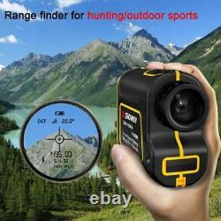 Laser Rangefinder 6x Telescope Laser Range Finder For Hunting/golf/sport/enginee