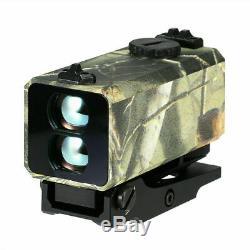 Le-032 Mini Télémètre Laser Portée De Fusil Maté Chasse À L'arc-700yard Archey Mode