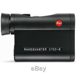 Leica Rangemaster Crf 2700-b Laser Télémètre 7x24 40545 Nouveau Livraison Gratuite