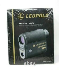 Leupold Rx-1200i Tbr/w Avec Adn Digital Laser Téléfinder Black New Sealed Box