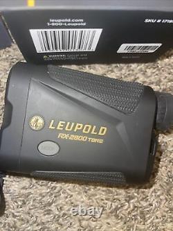 Leupold Rx-2800 Tbr/w Rangefinder Laser 599 $ Détail