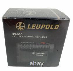 Leupold Rx-950 Laser Rangefinder Noir Nouveau Scellé