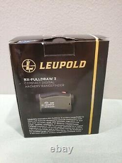 Leupold Rx-fulldraw 3 Rangefinder Laser Vert Avec Adn, 174557